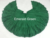 32  Yard Pure Cotton Light and Fluffy Skirt EMERALD GREEN