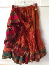 Embroidered Aishwarya Skirt Peachy Keen