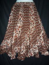 Brick Scalloped 12 panel Skirt
