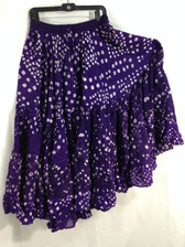 25 Yd JAIPUR SKIRT ATS Purple Swirl
