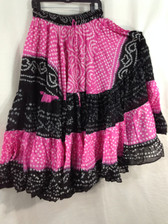 25 Yd JAIPUR SKIRT ATS Pink and Black