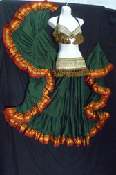 Emerald Green 25 yard Skirt