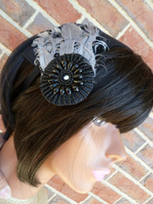 Gorgeous Feather Head Piece 2