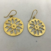 Beautiful Brass Earrings #13
