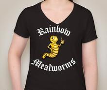 Women's V Neck 100% Cotton T - shirt
