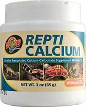 Repti Calcium WITHOUT D3