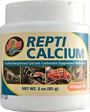 Repti Calcium WITHOUT D3