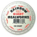 Red Giant mealworms are a favorite of fishermen country wide