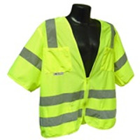 Class 3 Safety Vest With Zipper