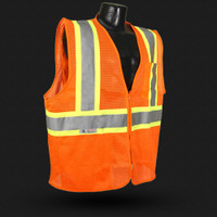 Radians SV225 Class 2 Fire Retardant Two-Tone Safety Vest 24ct case