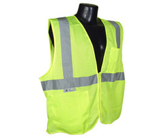 Class 2 Safety vest Green 5X