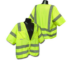 Class 3 Safety vest Green 5X