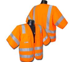 Class 3 Safety vest Orange 5X