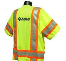 Radians Class III Two Tone  Vest W/Mic Tabs LF logo