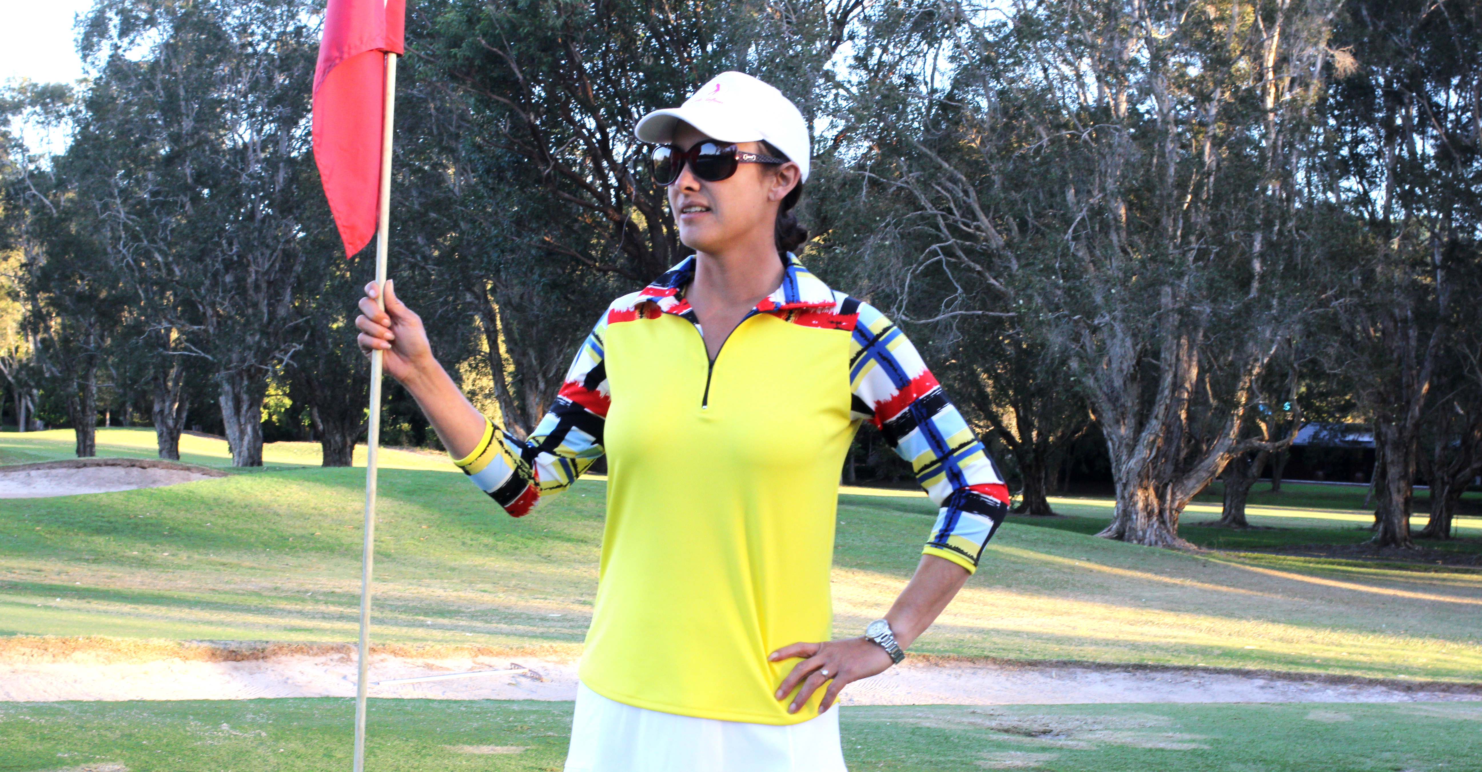Women's golf top