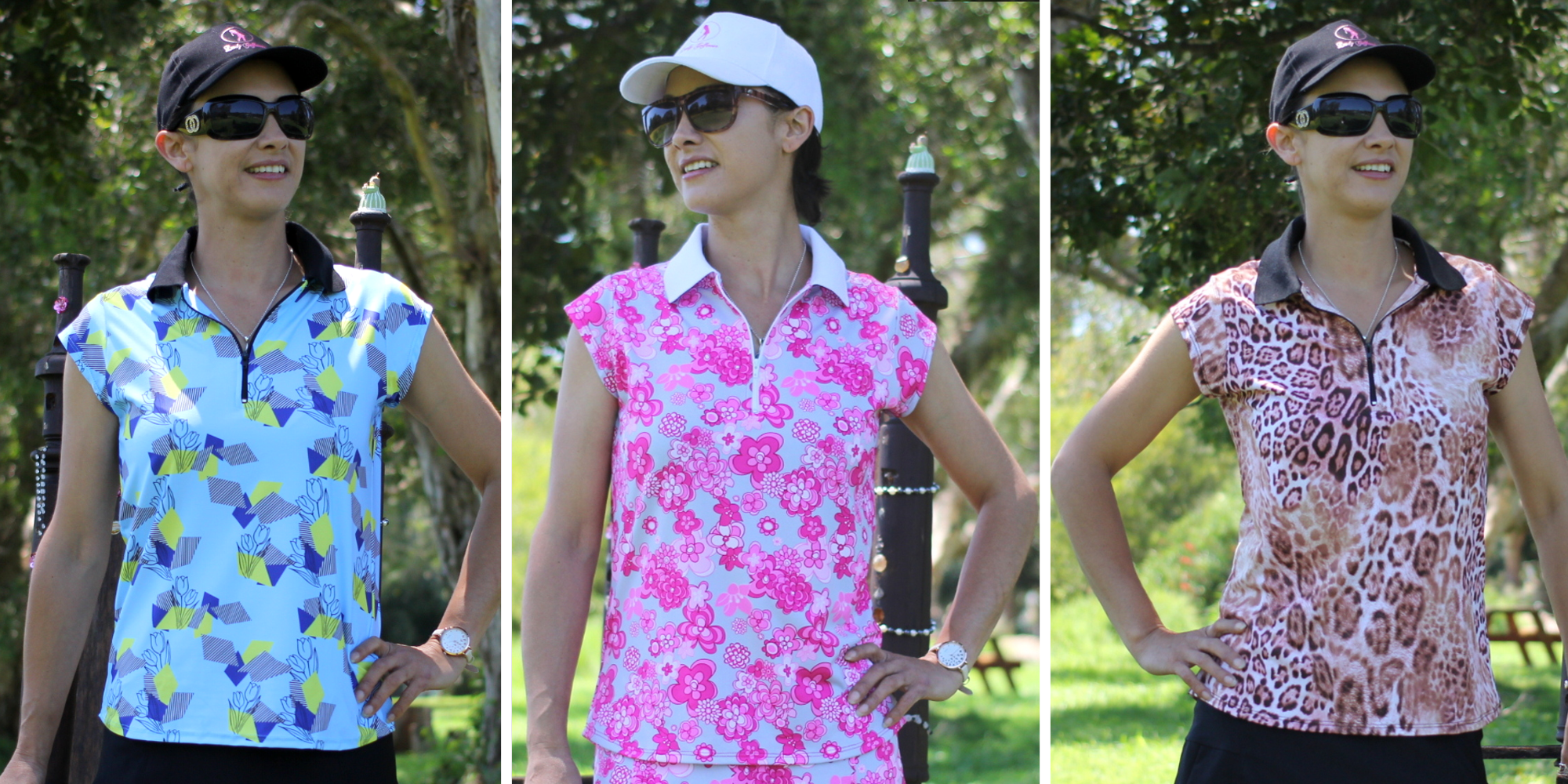 ladies-golf-shirts-in-cap-sleeves