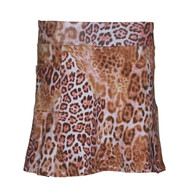 Women's Golf Skort in Leopard Print