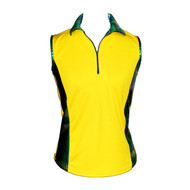 Women's Golf Top with Green Bling