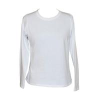 White Undershirt Long Sleeves for Women