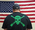 St. Patrick's Day Special Edition Skully T-Shirt