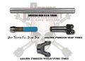Adams Driveshaft's Build your Own Offroad Buggy, or Jeep Driveshafts in 1350 Series.
