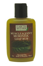 A muscle and joint Morinda leaf rub made in Barbados