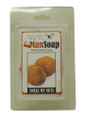 "Sure to make you laugh… A fun handmade soap with a coconut scent! Soap size: 2""w x 3"" h x 1""d"