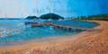 Saltwhistle Bay, Mayreau in The Grenadines by Sue Trew