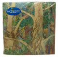 Lunch paper napkins with the Monkeys in a Gully design.