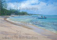 Heron Bay on the West Coast of Barbados