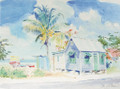A typical fisherman's chattel house in Barbados