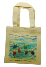 Mini tote with all six happy hatchlings