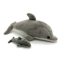 Mummy dolphin and her baby Dart.