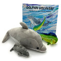 Dolphin Discovery book and character collectible toys.