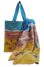 A great shoreline bag and towel combined!