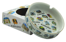 Ashtray with 12 images of Barbados. Comes nicely gift boxed.