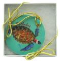 Christmas Deco Hawksbill Turtle.
