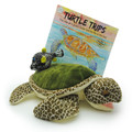 The Turtle Trips book with Gus and Dot the main characters in the book.