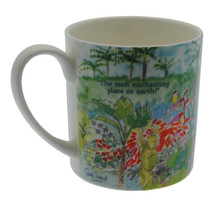 The rear view of the mug.