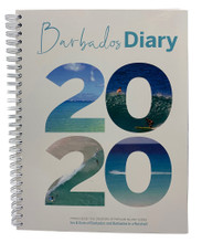 The great cover of the 2020 Barbados Diary.