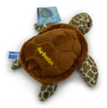A plush magnet turtle with Barbados.