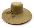 Large brimmed sun hat.