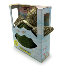 The Turtle Trips Gift Box with display window.