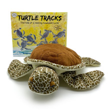 The Turtle Tracks family with the book Tilli turtle the main character..