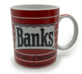 Banks beer logo mug.