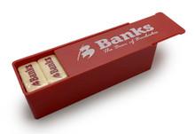 Banks beer logo dominoes.