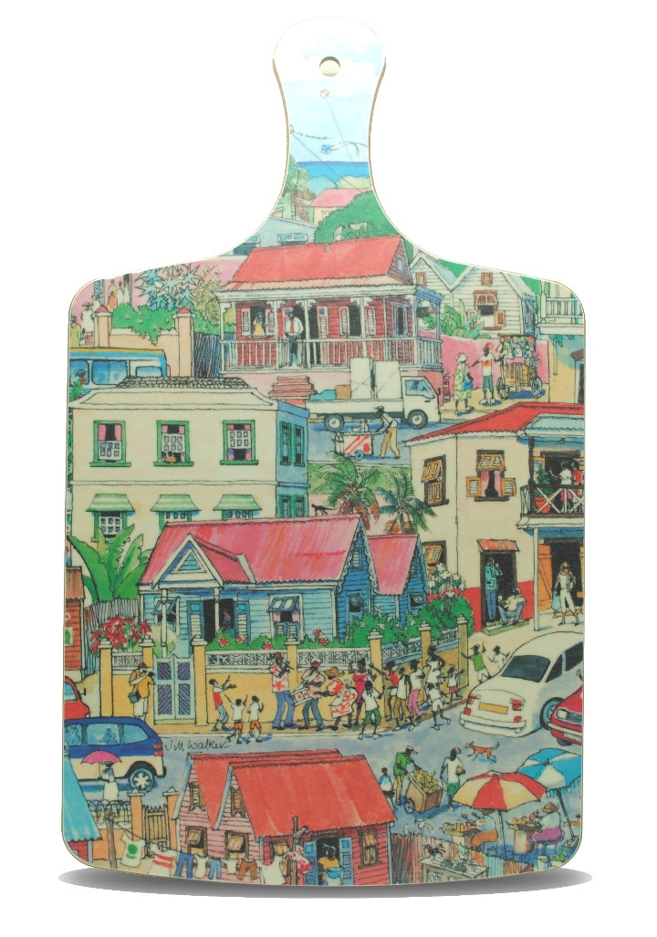 Island Life Chopping Board Large Best Of Barbados Gift Shops