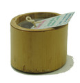 Bamboo Candle Mini Dove Grey