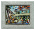 "Framed 6x8"" Tile Speightstown"