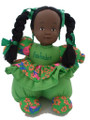 Renee Doll Green Braides